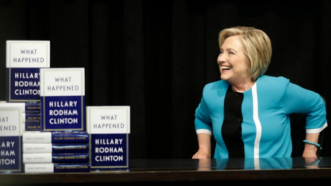 Hillary Clinton Book Tour to Start in DC; Tickets on Offer for Nearly $900
