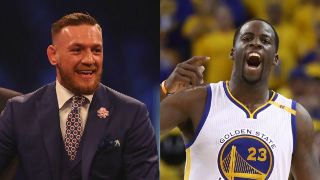Draymond Green, Conor McGregor get into spat on Instagram over Warriors jersey