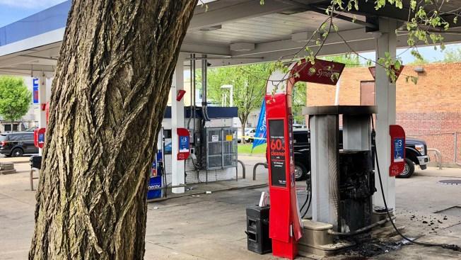 Woman Found Dead at Northeast DC Gas Station Blaze