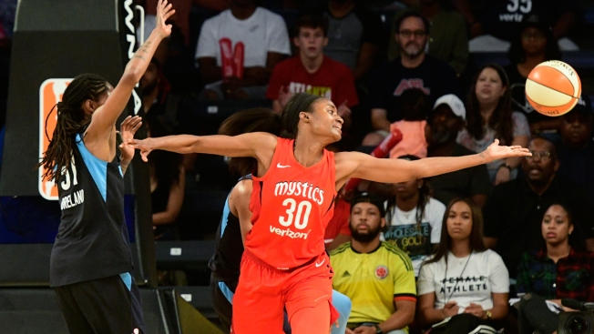 Mystics Earn 1st Trip to WNBA Finals, Beating Dream 86-81