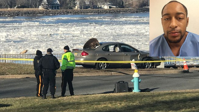 Vehicle plunges into Delaware River following crash, 1 dead, 1 injured