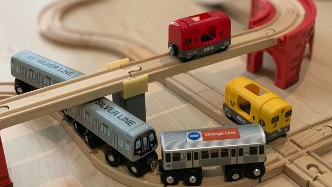 Photos: 5-Year-Old and Father Make DC Metro System Model