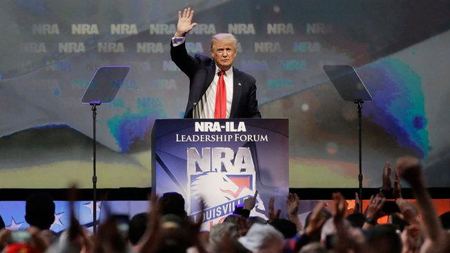 NRA Endorses Donald Trump at National Convention