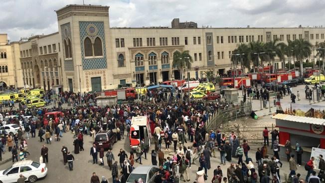 Egypt Train Crash, Fire at Central Cairo Station Kills 25