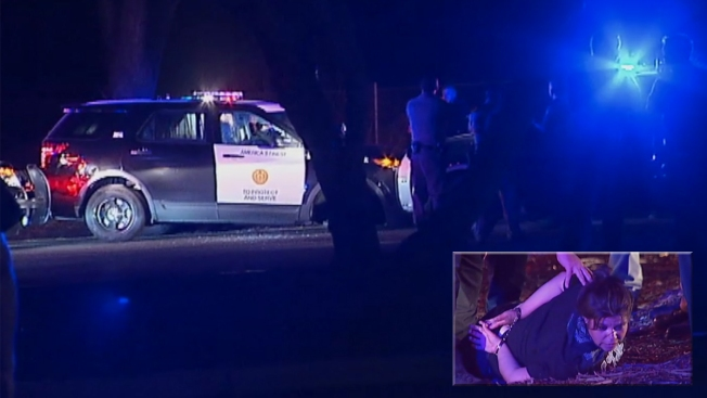 Woman Steals Cop Car, Crashes Head-on Into 2nd Cop Car