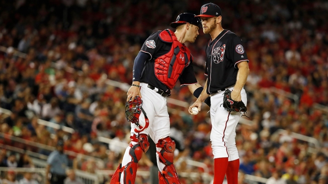 Nats' Stasburg Loses, Beefs With Scherzer; Braves Win 8-5
