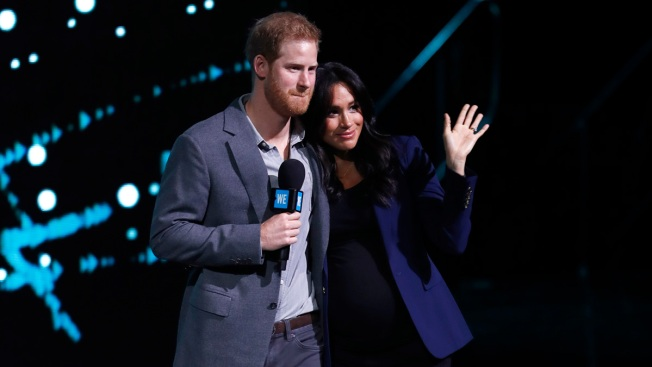 [NATL] Royal Family Photos: Meghan, Harry Cuddle on Stage at WE UK