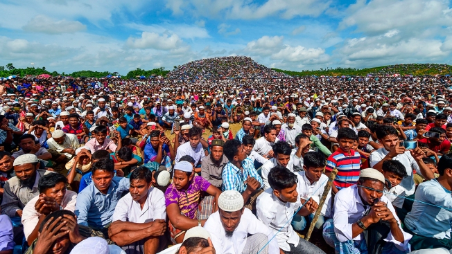 Rohingya Refugees Rally to Mark 2nd Anniversary of Exodus