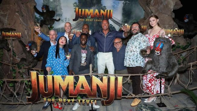 [NATL] Top Entertainment Photos: 'Jumanji: The Next Level' Photo Call, Kanye West, More