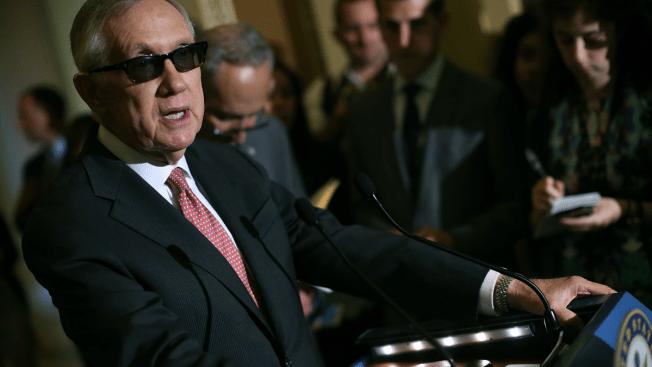 Senate Minority Leader Harry Reid Denounces Redskins' Name -- and Owner