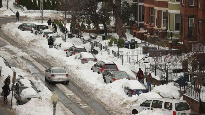DC Issues $1.4 Million Worth of Parking Tickets After Blizzard