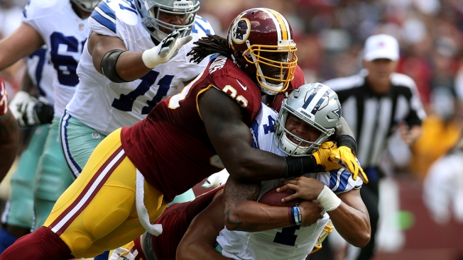 Suddenly Stumbling Vikings, Redskins Meet in Key NFC Matchup