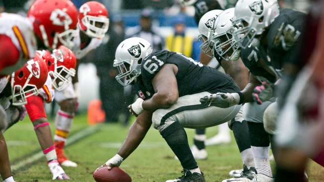 Raiders missing 3 starters to injury for showdown in KC