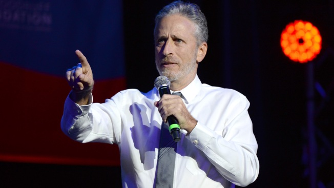 Jon Stewart Bashes Trump at Comedy Charity Event
