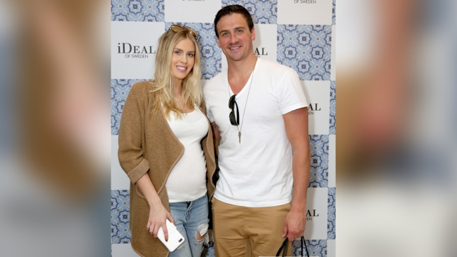 Olympic Swimmer Ryan Lochte Marries Mother of His Infant Son