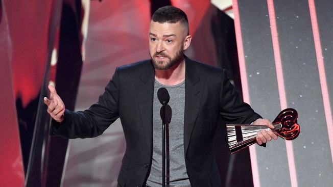 'Being Different Means You Make the Difference': Timberlake Dedicates iHeartRadio Award to Youths