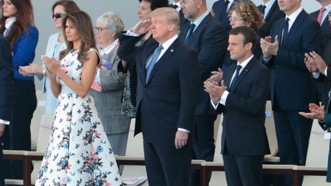 Planning for Trump's Military Parade Getting Underway