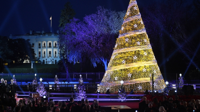 Drivers May Hit Delays From Road Closures for White House's National Christmas Tree Lighting Wednesday