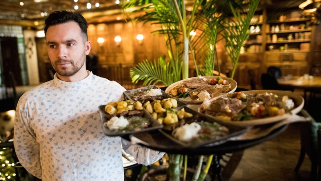 Dining Russian-Style at the World Cup