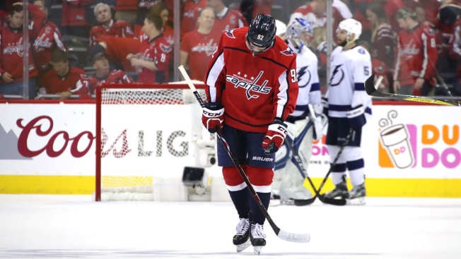 Capitals Lose to Lightning 4-2, Still Ahead in Series