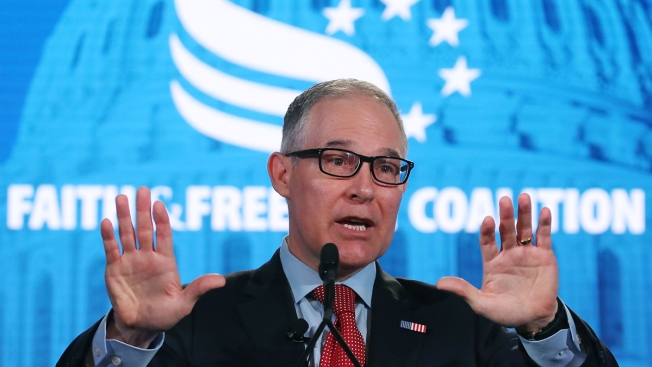 Ex-EPA Chief Pruitt Spent Nearly $124K on 'Excessive Airfare,' Agency Says