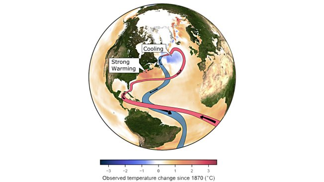 Global Warming Is Weakening Key Ocean Circulation: Study