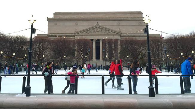 Find D.C.-Area Ice Skating Rinks