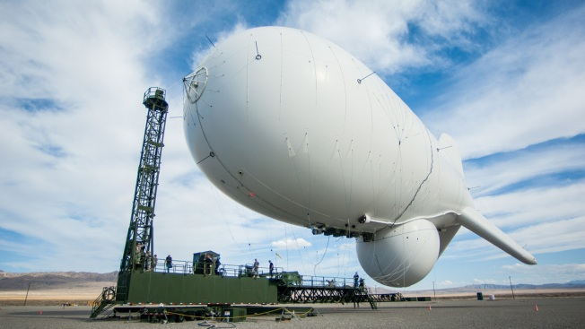 Runaway Military Blimp From Maryland Lands in Pennsylvania