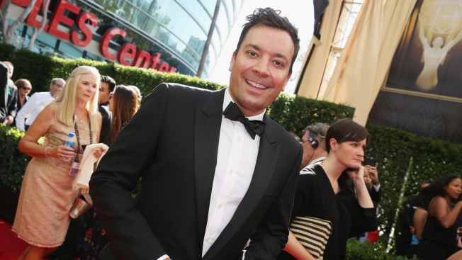 Jimmy Fallon in Best Shape Ever Despite Falls