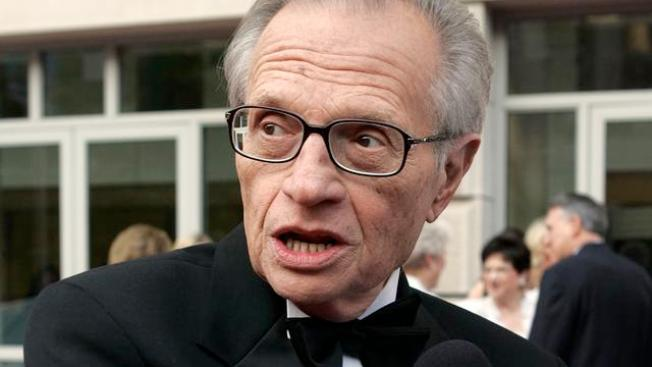 Larry King Says He Was Operated on for Lung Cancer