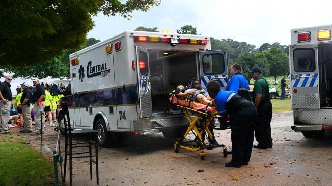 Lightning Strike at Tour Championship Causes 6 Injuries