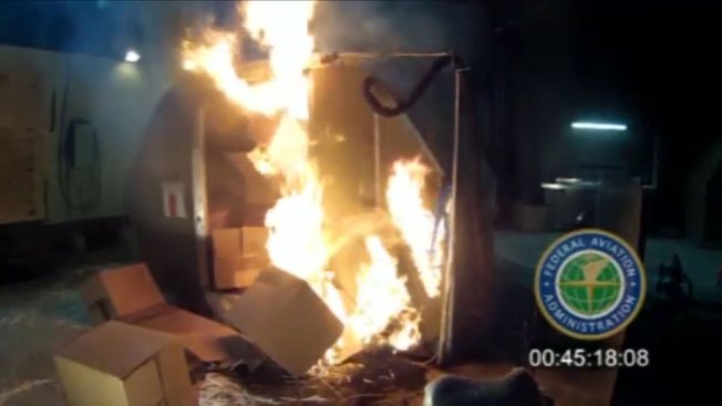 US Push to Avert Airplane Battery Fires Stalls