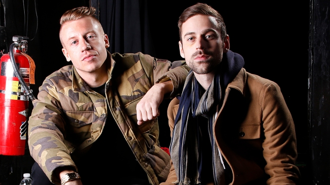 Macklemore & Ryan Lewis Hit Warm Up for Grammys