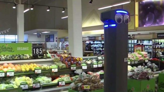 Marty the Robot Coming to Grocery Stores