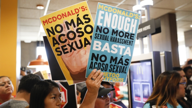 Facing New Complaints, McDonald's Says It's Offering Training to Combat Sexual Harassment
