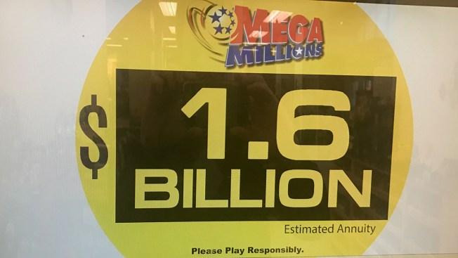 No Mega Millions Winner Jackpot Climbs To 1 6 Billion Nbc4 Washington