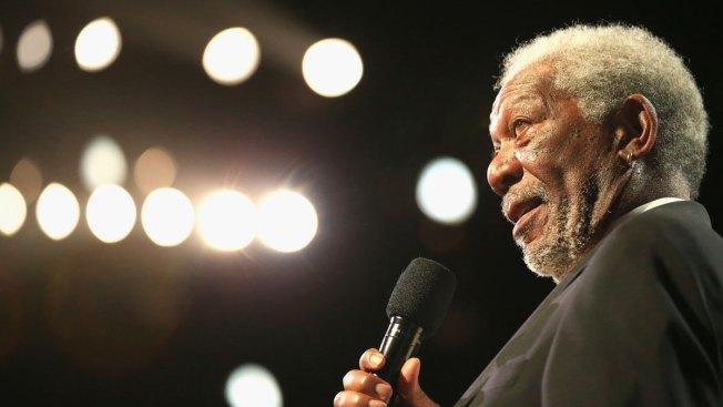 Actor Morgan Freeman Unhurt After Plane's Unexpected Landing