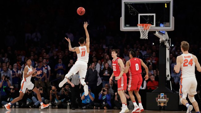 Chris Chiozza sends Wisconsin home on incredible buzzer-beater