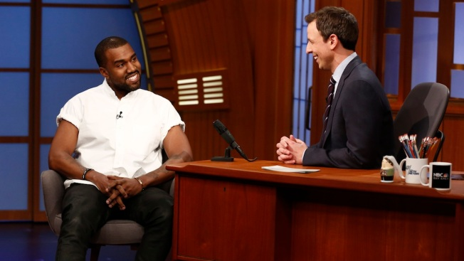 "Kanye West Compares Himself to Michelangelo on ""Late Night"""