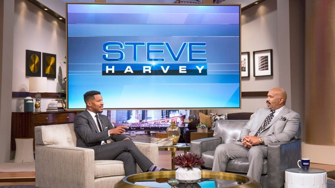 Nate Parker Opens up During Appearance on 'Steve Harvey'