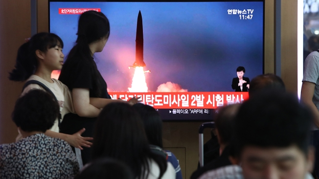 North Korea Fires More Weapons, Denounces US Military Drills