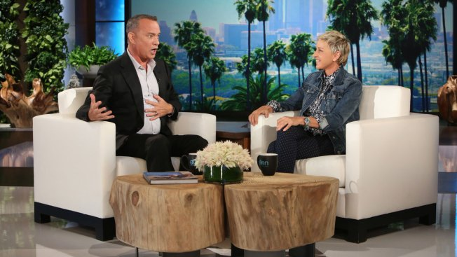 When 'Dory' Met 'Woody': Hanks and Ellen Have Pixar Showoff