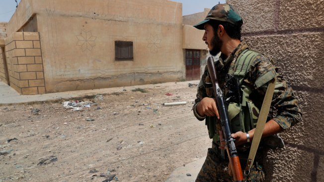 US-Backed Forces Battle ISIS in Heart of Syria's Raqqa