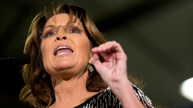 Sarah Palin Sues New York Times Over Editorial Linking Her to Violence