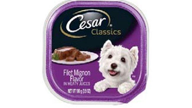 Cesar Classics Dog Food Recall