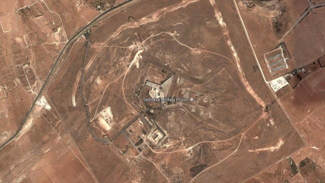 United States says Syrians have built crematorium near prison