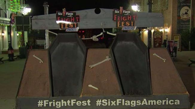 Six Flags Sponsors 30 Hour Coffin Challenge