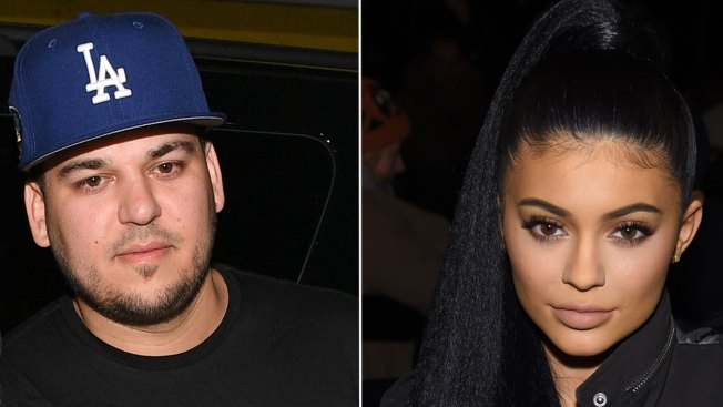 Rob Kardashian Tweets Kylie Jenner's Real Cell Phone Number in Baby Shower Snit