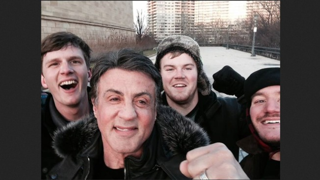 Tourists Get Knockout Photo of Sylvester Stallone Atop 'Rocky' Steps