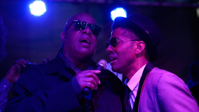Stevie Wonder, Eric Benet, More Honor Prince in Los Angeles